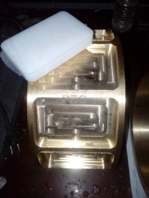 Латунные кольца с полимерными накладками ПРГ PRG Россия 1