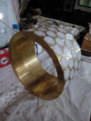 Латунные кольца с полимерными накладками ПРГ PRG Россия 6