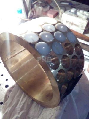 Латунные кольца с полимерными накладками ПРГ PRG Россия 7