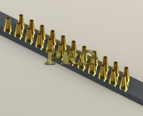 Матрица на 23 фильеры для кондитерской машины MIMAC